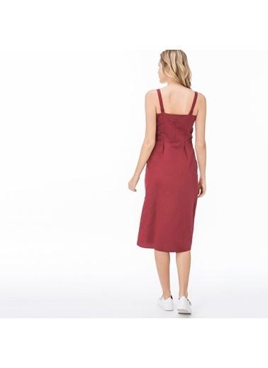 Lacoste Kadın  Elbise EF0901.01B Bordo